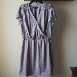 Banana Republic dress with jeweled shoulders, sz M